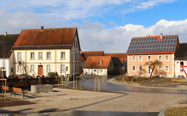 Dorferneuerung Mönchsambach wird gefeiert