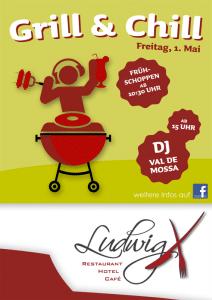 "LudwigX lädt zum ""Grill & Chill"" am Maifeiertag"