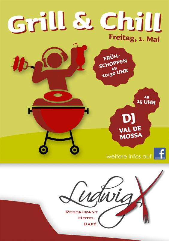 Ludwigx Lädt Zum Grill Chill Am Maifeiertag