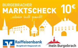 Burgebracher Marktscheck