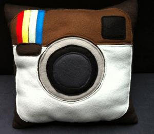 Instagramm-Kissen