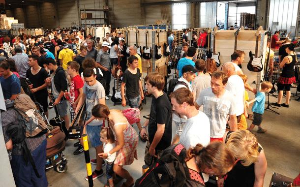 Thomann-Musikerflohmarkt 2015