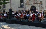 Serenadenkonzert 2019 der Ebrachtaler Musikanten auf dem Kirchplatz in Burgebrach