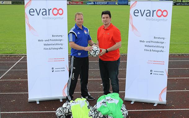 Neue Trainingsmaterialien für den TSV Burgebrach