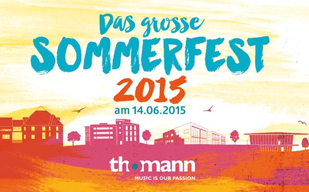 Das große Musikhaus Thomann Sommerfest 2015!