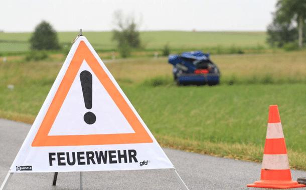 Schwerer Unfall zwischen Grasmannsdorf und Dietendorf