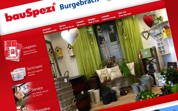 bauSpezi Burgebrach ist neuer Unterstützer von meinBurgebrach.de!