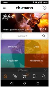 Die neue Thomann App