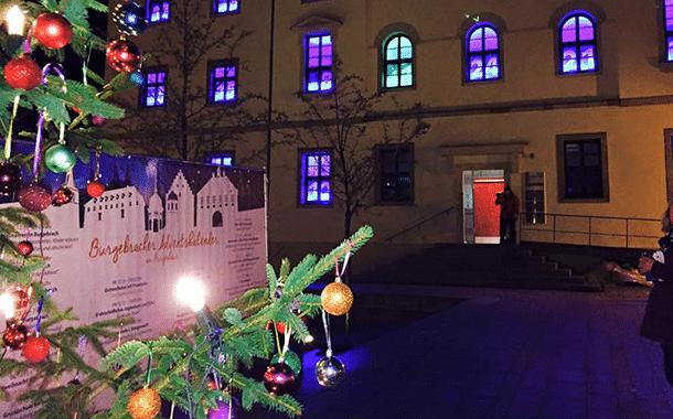 Adventsfensteraktion auch im Jahr 2016 in Burgebrach
