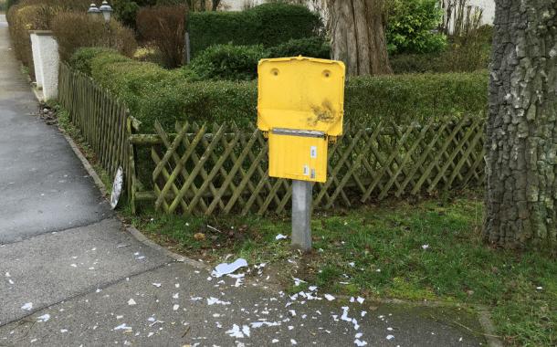 Burgebrach: Post-Briefkasten gesprengt