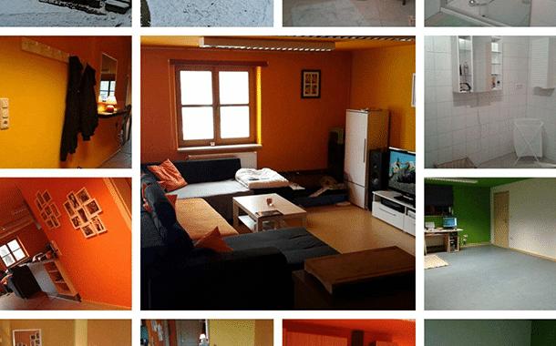 Schöne ruhige Wohnung in Burgebrach
