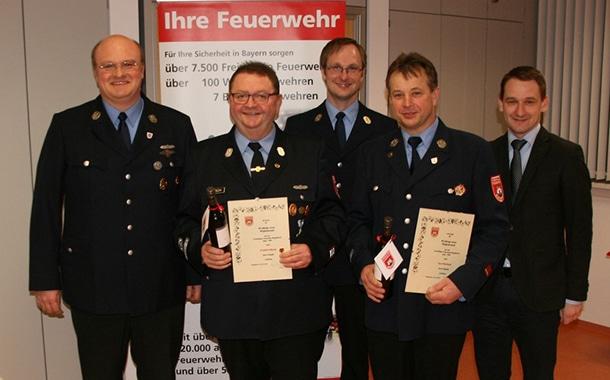 Feuerwehr Burgebrach hält Rückblick auf das Jahr 2015