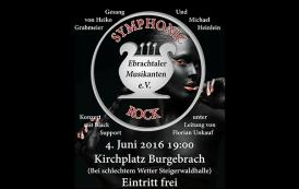 Symphonic Rock der Ebrachtaler Musikanten und der Rockband Black Support