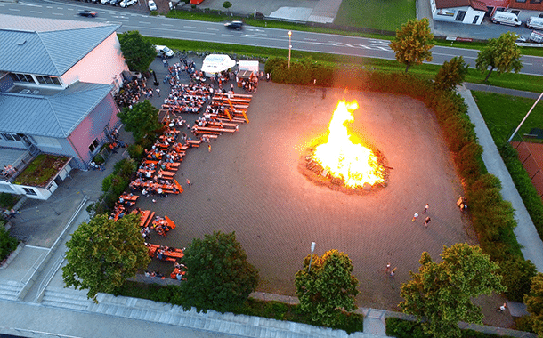 Johannisfeuer 2019 in Burgebrach