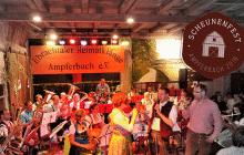 13. Scheunenfest in Ampferbach am kommenden Samstag