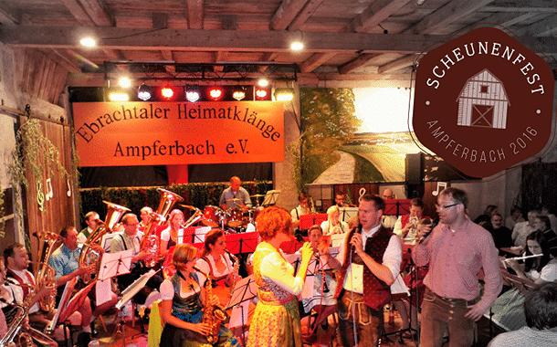 14. Scheunenfest in Ampferbach