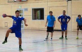 Zum Saisonabschluss winkt die Vizemeisterschaft für die Handballmänner