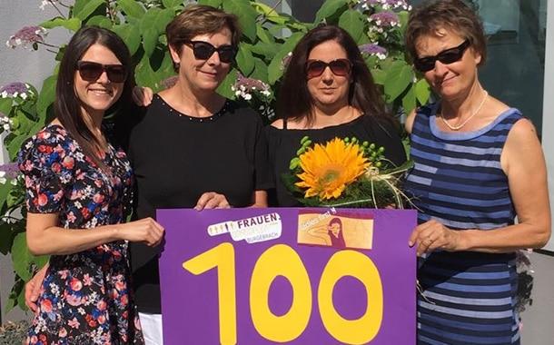 Frauen Union Burgebrach macht die 100 voll