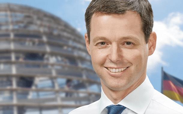 Bundestagsabgeordneter Herr Thomas Silberhorn kommt nach Burgebrach