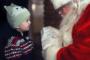 An der Waldweihnacht schaut der Nikolaus vorbei