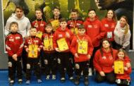 Burgebrachs Ringerjugend  ist in Nürnberg mit 7 Medaillen sehr erfolgreich