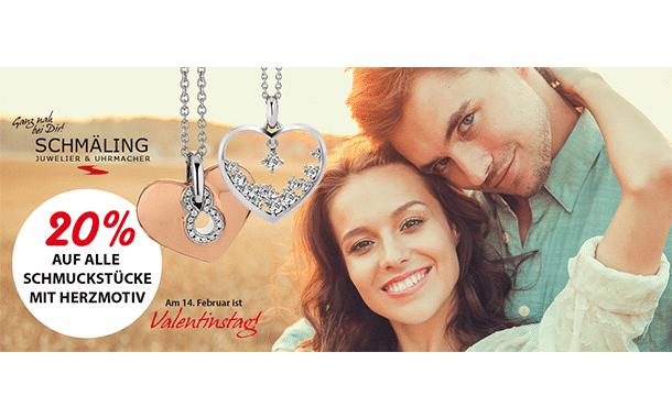 Anzeige: Unglaubliche Valentinsaktion bei Juwelier Schmäling