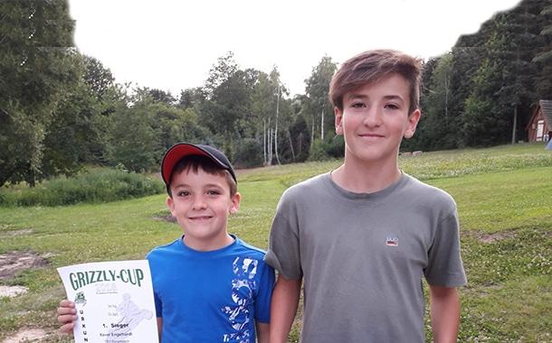 Xaver und Johann Engelhardt siegen im Grizzly-Cup