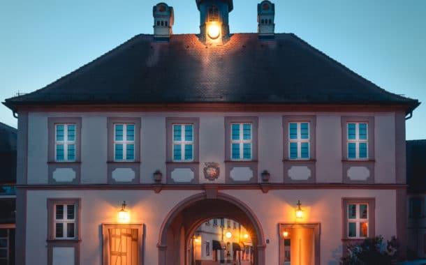 Burgebrach leuchtet