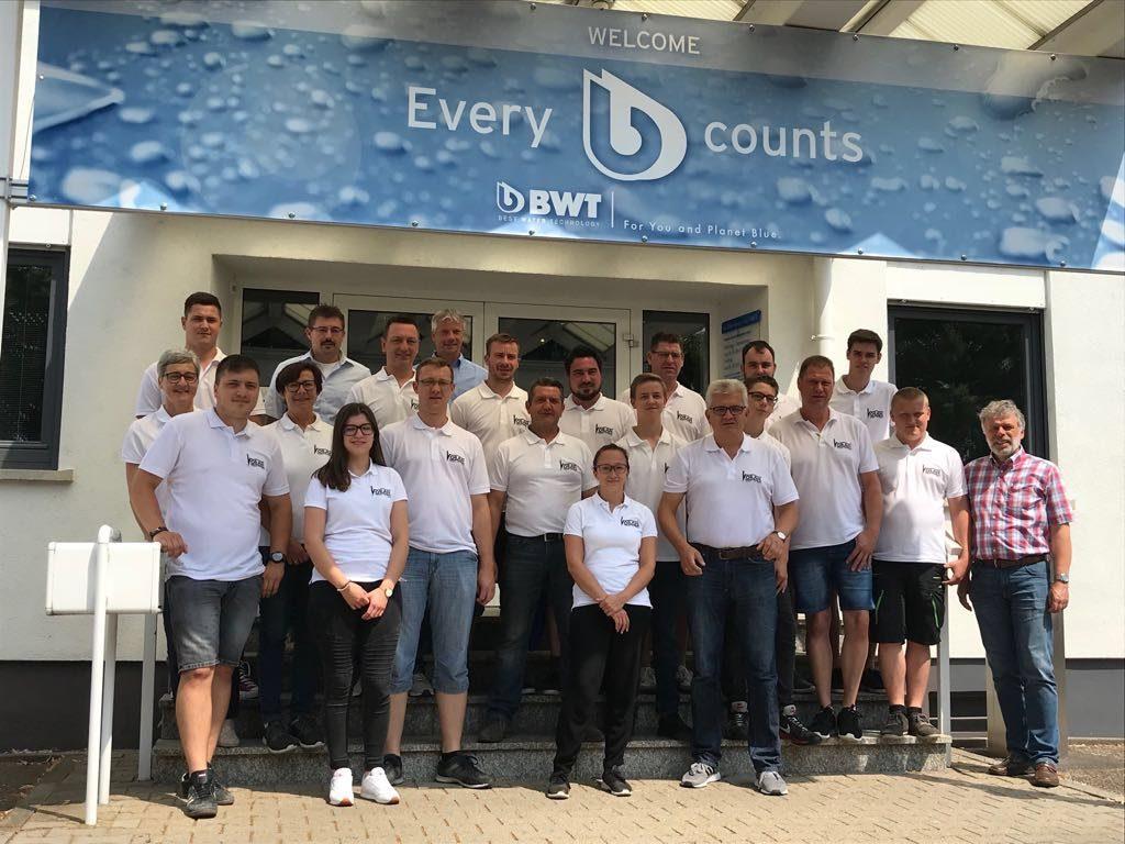 Voran Heizung und Sanitär GmbH zu Besuch bei BWT