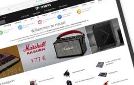 Musikhaus Thomann unter den 10 reichweitenstärksten Webshops