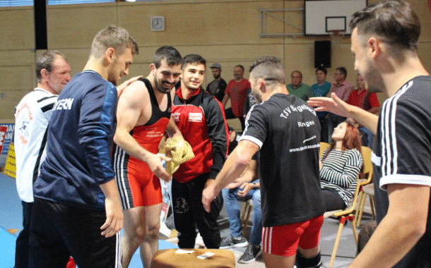 Die Ringer des TSV Burgebrach bestreiten den ersten Heimkampf gegen den ASV Hof