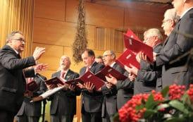 Begeisterte Besucher beim Jubiläumskonzert des Gesangvereins im Steigerwald Burgebrach e.V.