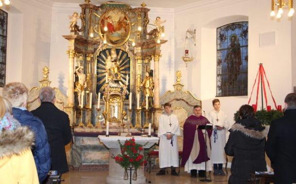 Wiedereröffnung der Kirche in Unterneuses nach erfolgter Sanierung