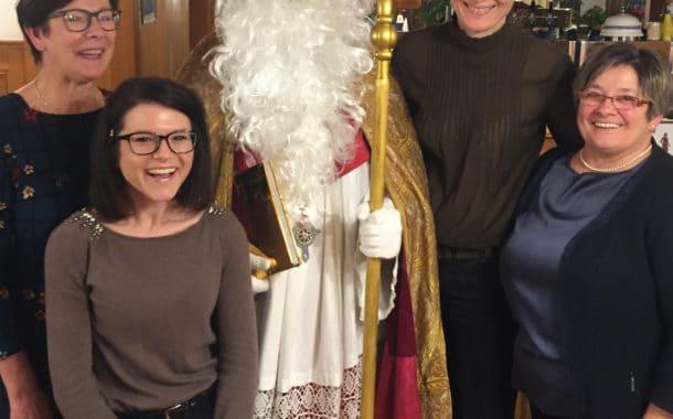Lob vom Nikolaus an die Frauen-Union Burgebrach