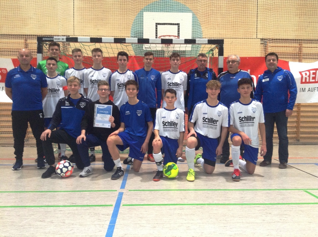 JFG Steigerwald siegt bei der U17-Hallenkreismeisterschaft