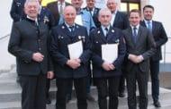 Markt Burgebrach ehrt langjährige Feuerwehr-Aktive