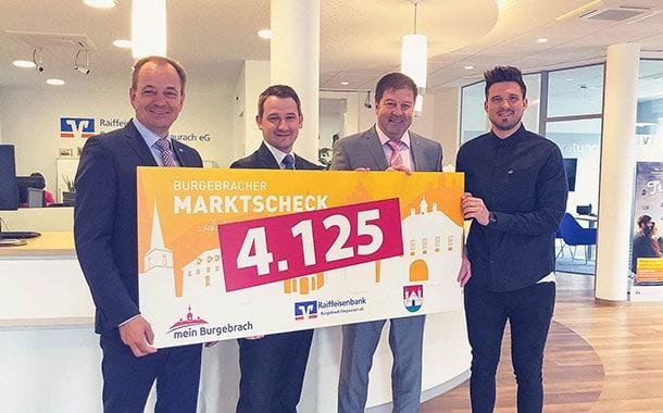 Burgebracher Marktscheck feiert dritten Geburtstag [Gewinnspiel]
