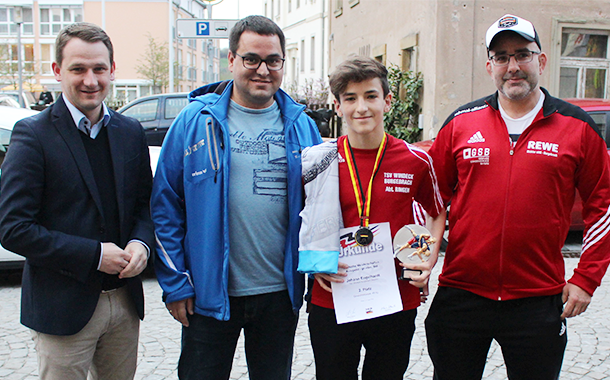 Ringen: Silber bei Deutscher Meisterschaft für Johann Engelhardt