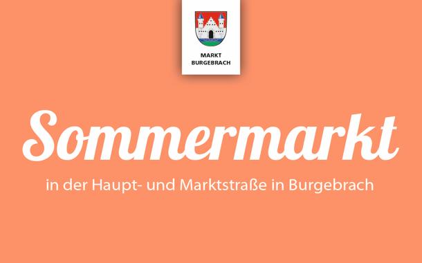 Sommermarkt 2019 in Burgebrach