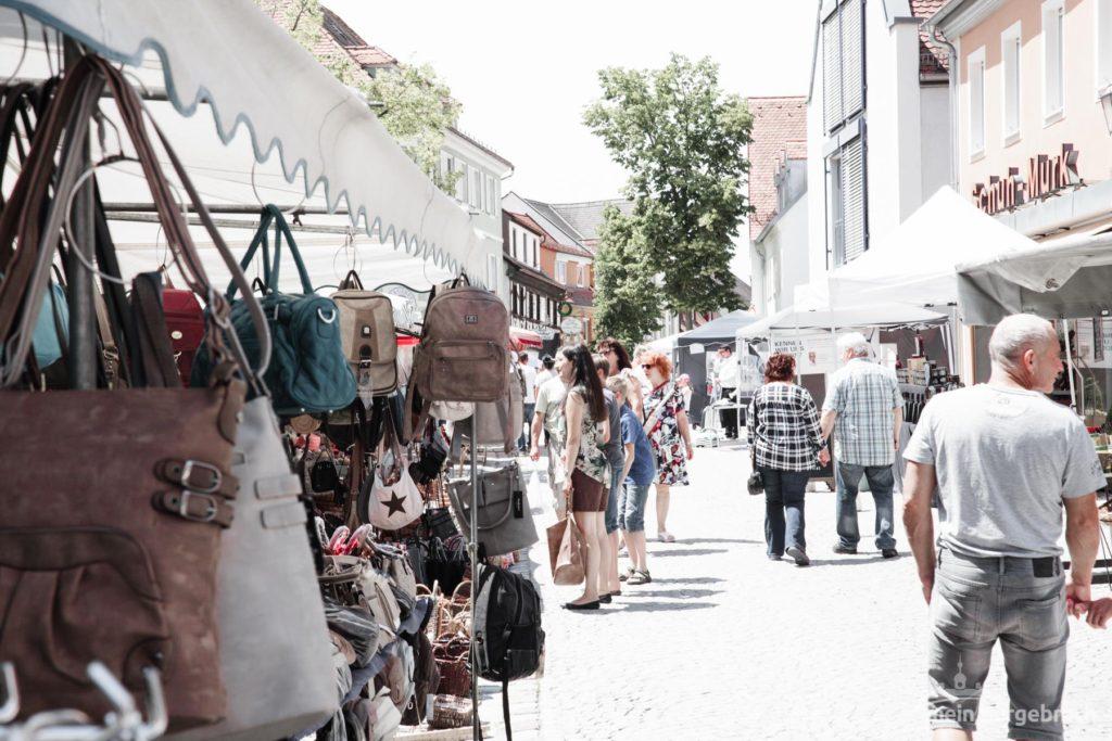 Traditioneller Herbstmarkt und vieles mehr in Burgebrach!