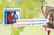 Fahrt auf dem fränkischen Marienweg