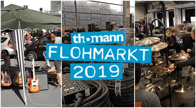 Der große Musikerflohmarkt 2019 bei Thomann