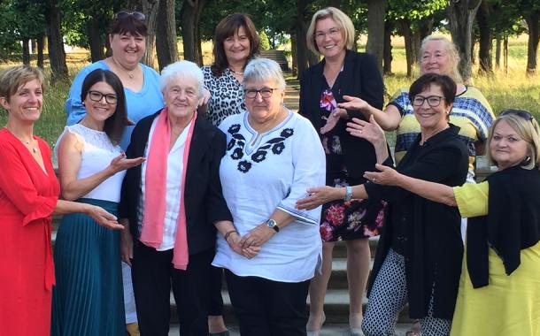 Ehrung für 20 Jahre Frauen-Union Burgebrach