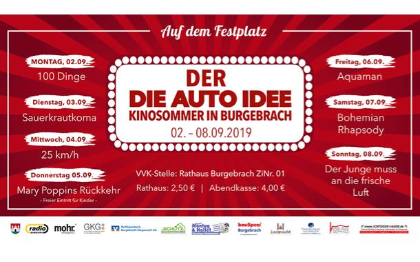 Vorhang auf für den 1. Fränkischen Kinosommer in Burgebrach