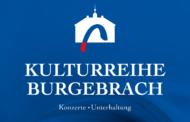 Kulturreihe Burgebrach - Programm 2019/20