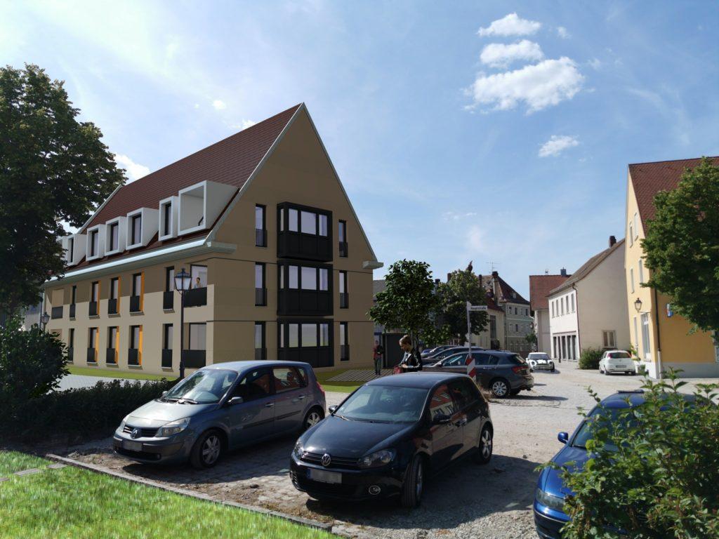 Ansprechende Planung für Baulücke im Burgebracher Ortskern vorgestellt