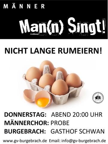 Gesangverein im Steigerwald Burgebrach sucht Sänger