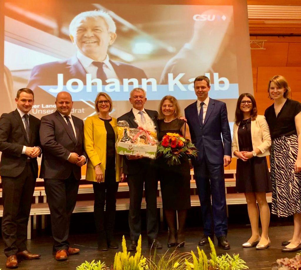 Landratsnominierung: CSU setzt erneut auf Kalb