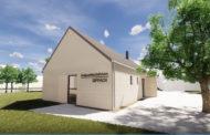 Graue Spalte: Dorfgemeinschaftshaus als erste Maßnahme