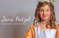 Jana Hetzel ist das Burgebracher Christkind 2019